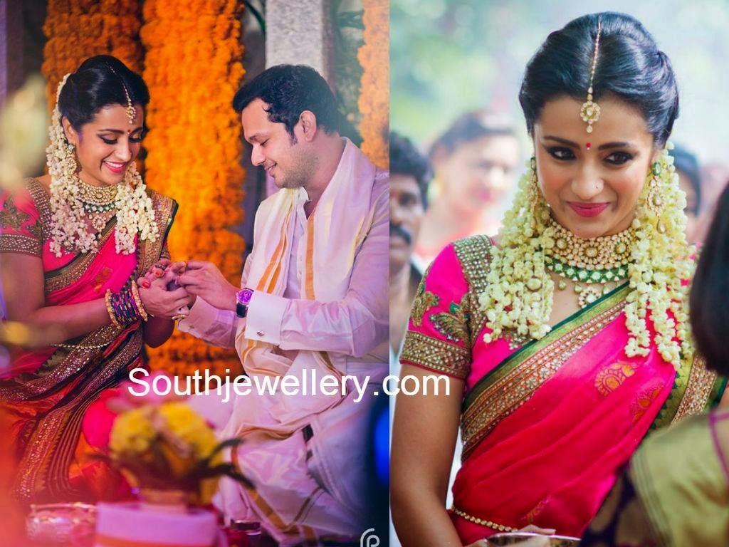 trisha krishnan engagement