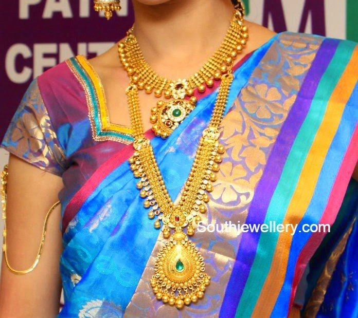 Antique Gold Necklace and Haram