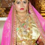 Bride in Beautiful Wedding Jewellery