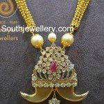 Antique Necklace with Diamond Puligoru Pendant