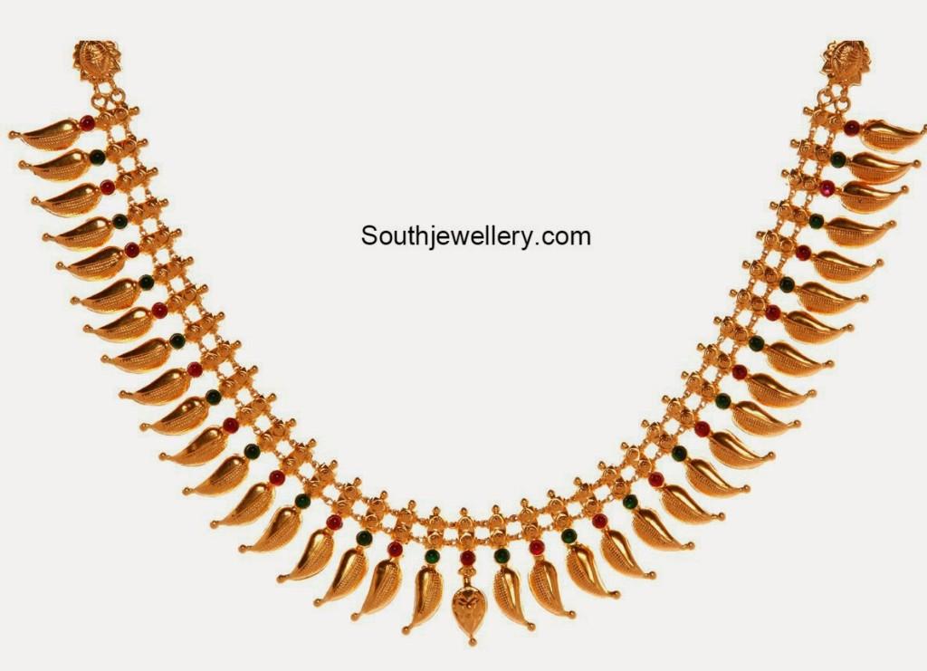mamidi pindelu necklace