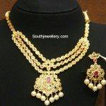 Uncut Pacchi Necklace Set