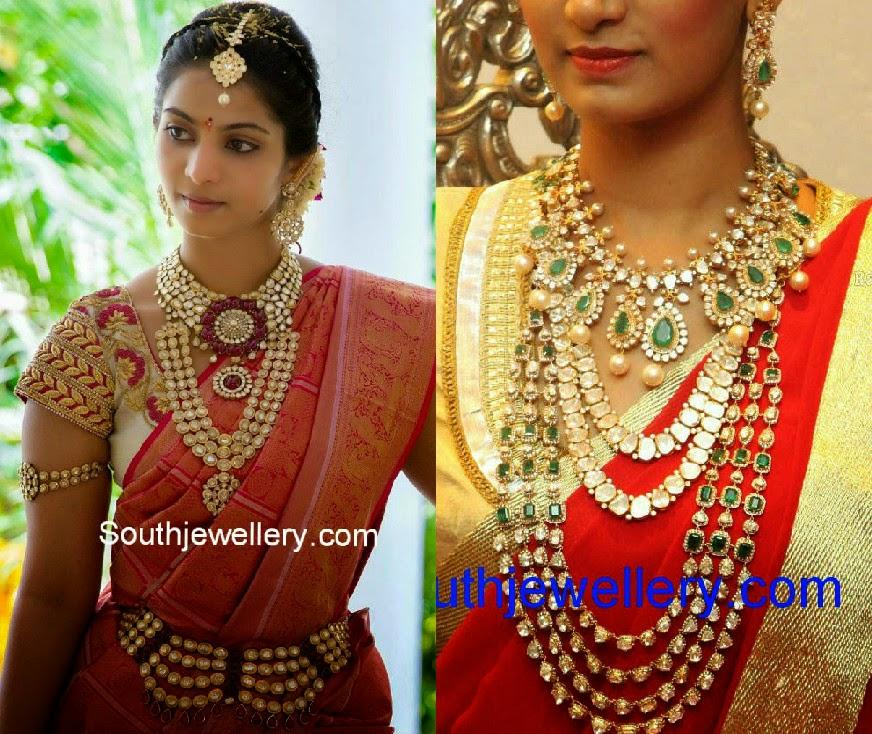 polki diamond wedding jewellery