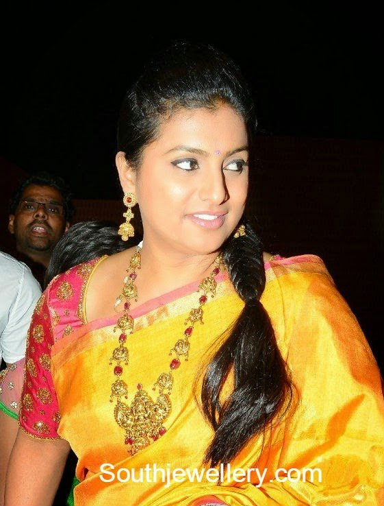 roja at subbarami reddy grandson wedding