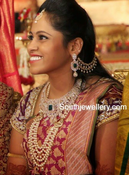 south indian bride jewelry