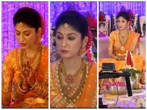 pranathi reddy jewellery