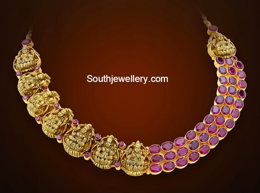ashta lakshmi necklace