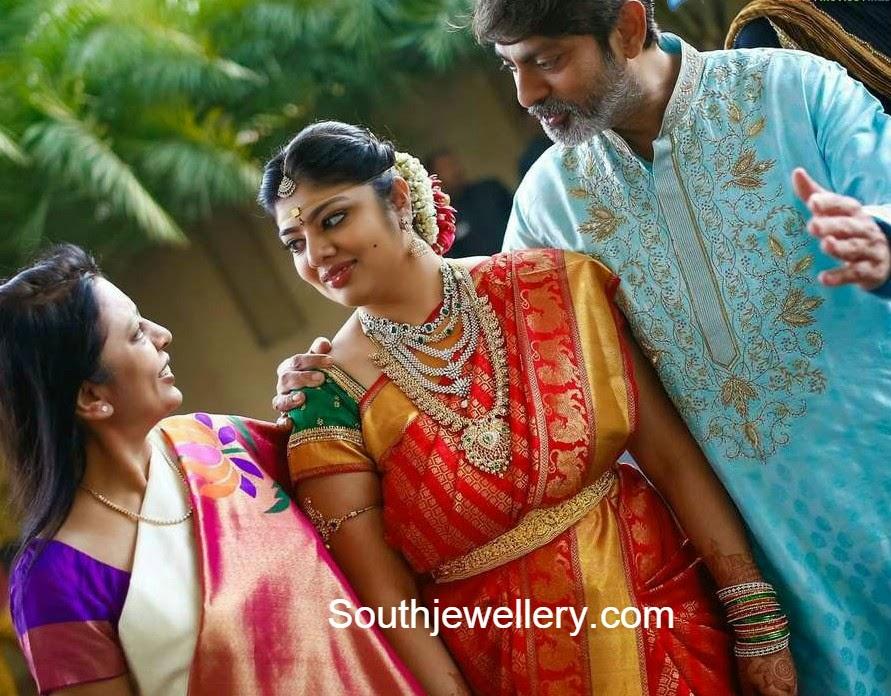 hero jagapathi babu daughter wedding