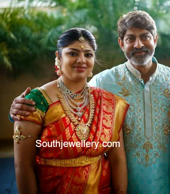 jagapathi babu daughter marriage jewellery