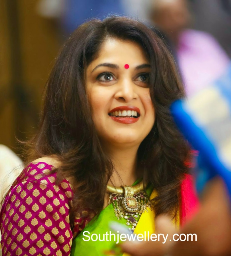 ramya krishna at jagapathi babu daughter wedding