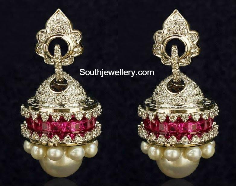 diamond jhumkas indian - photo #22