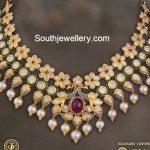 Uncut Diamond Pacchi Necklace