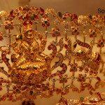 Goddess Lakshmi Floral Oddiyanam