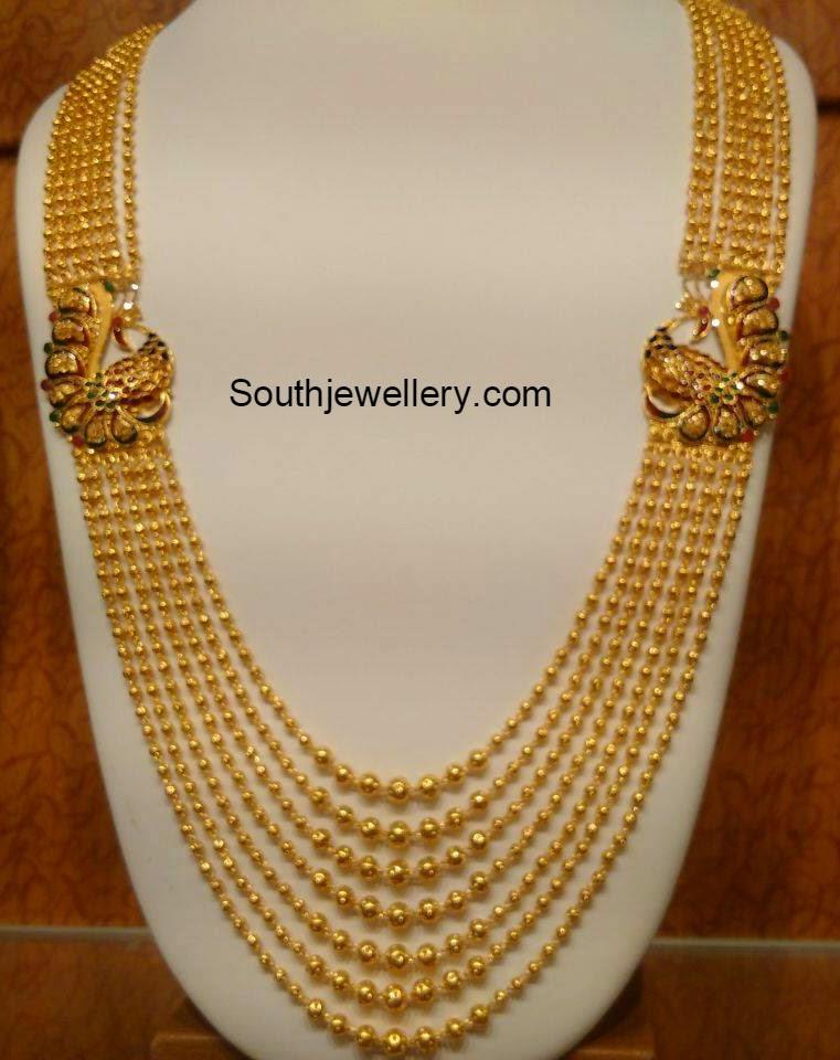 Gundla Mala Latest Jewelry Designs Page 5 Of 17 Indian Jewellery Designs