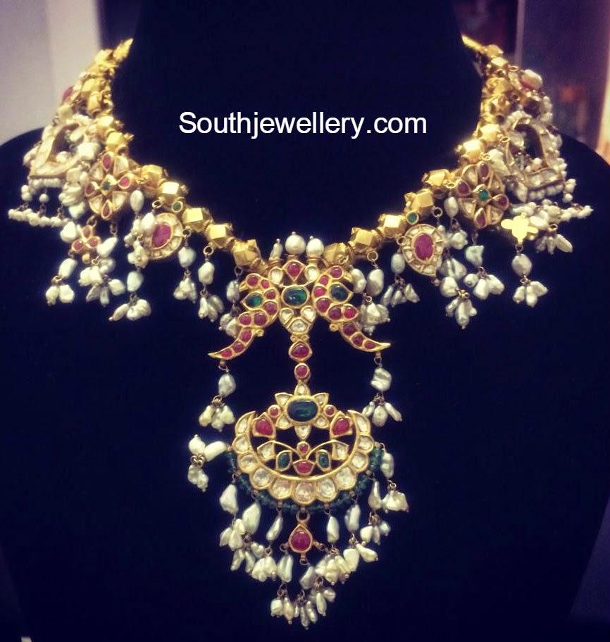 kundan guttapusalu necklace