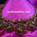 Graceful Peacock Kundan Necklace