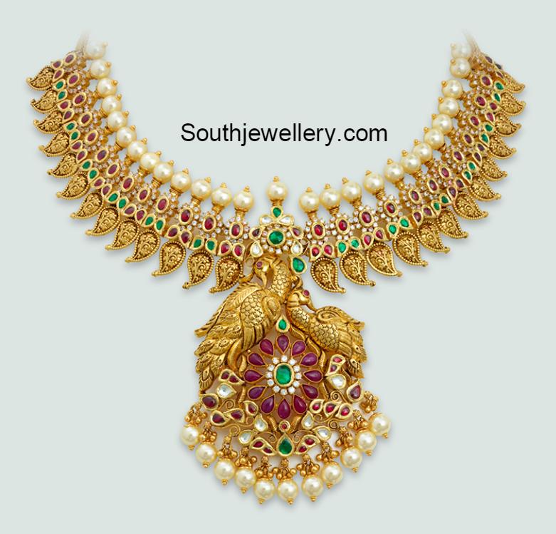 ruby mango necklace