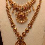 Uncut Navaratna Mango Necklace & Gundla Mala