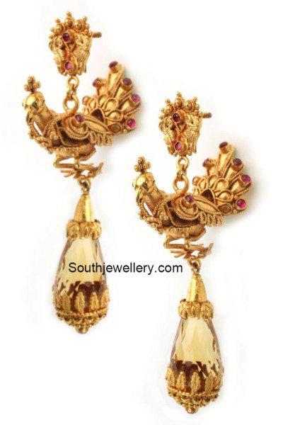 peacock_earrings