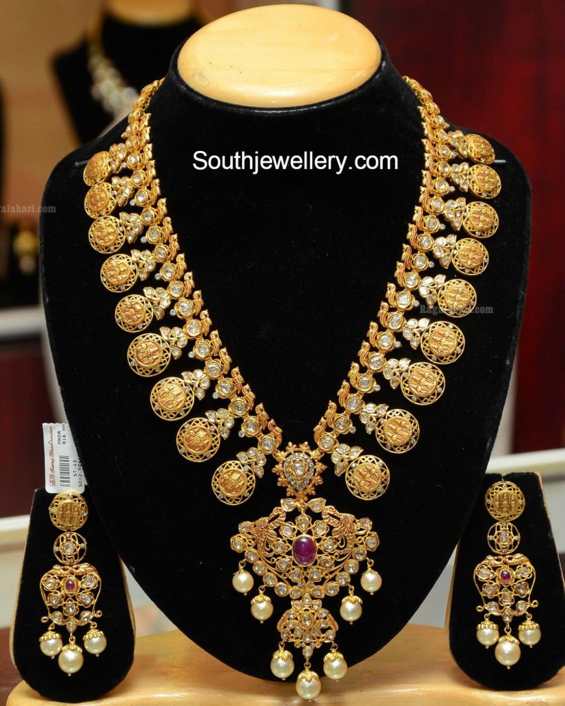 ram_parivar_pacchi_kasu_necklace