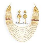 Multi Layered Gold Chandraharam
