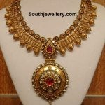 Beautiful Antique Gold Necklace