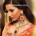 Bridal Polki Diamond Necklace