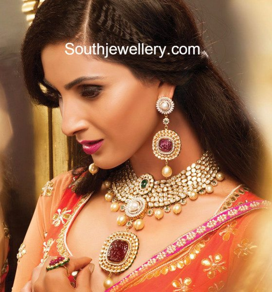 bridal_polki_diamond_necklace