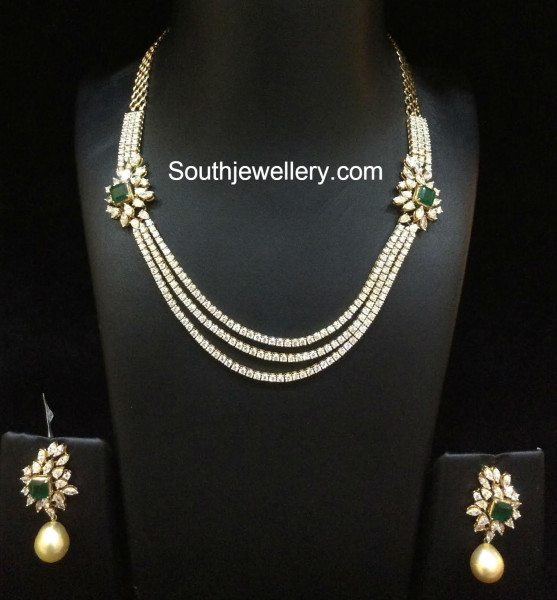 diamond+necklace+set