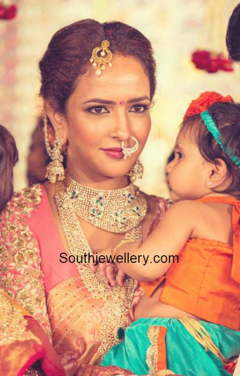 Lakshmi Manchu In Stunning Jewellery At Manoj S Wedding