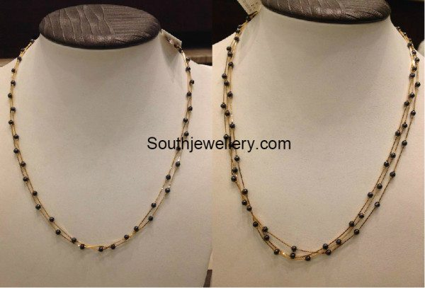 light_weight_black_beads_necklace