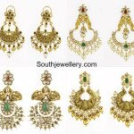 Antique Polki Diamond Chandbalis