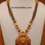 Beads Mala with Lord Krishna Pendant