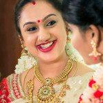 Preetha Vijaykumar in Antique Gold Jewelry