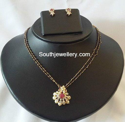 black_diamonds_mangalsutra_chain_models