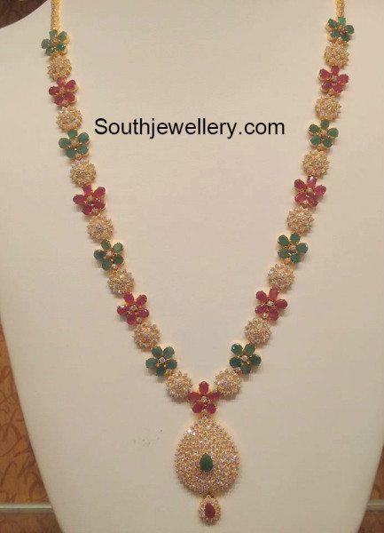 cz_floral_necklace