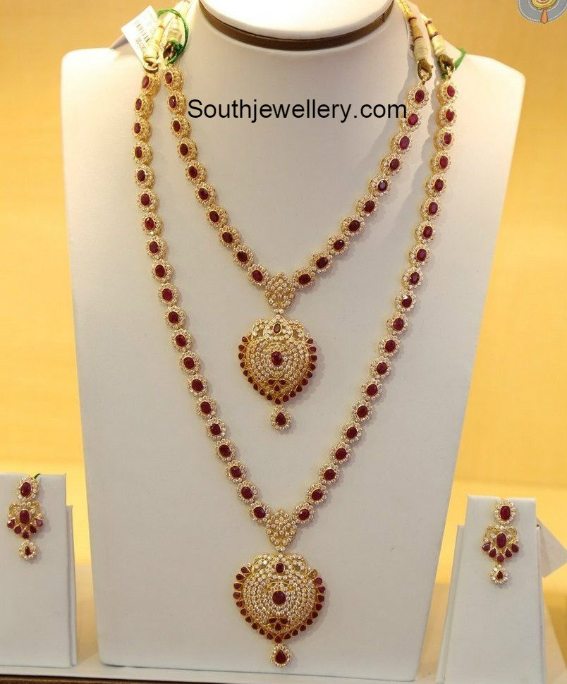 ruby long chain latest jewelry designs   page 3 of 10