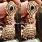 21 Grams Diamond Jhumkas