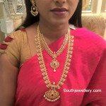 Uncut Diamond Necklace and Mango Mala