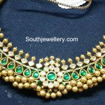 Emerald Tussi Necklace