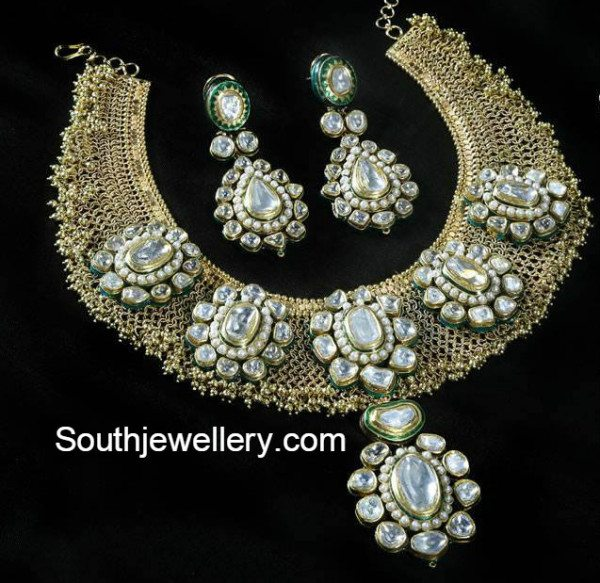 polki_diamond_antique_necklace