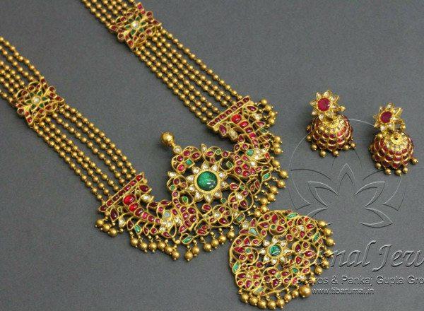 Rani Haram with Kundan Pendant
