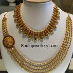 Mango Necklace and Gundla Mala