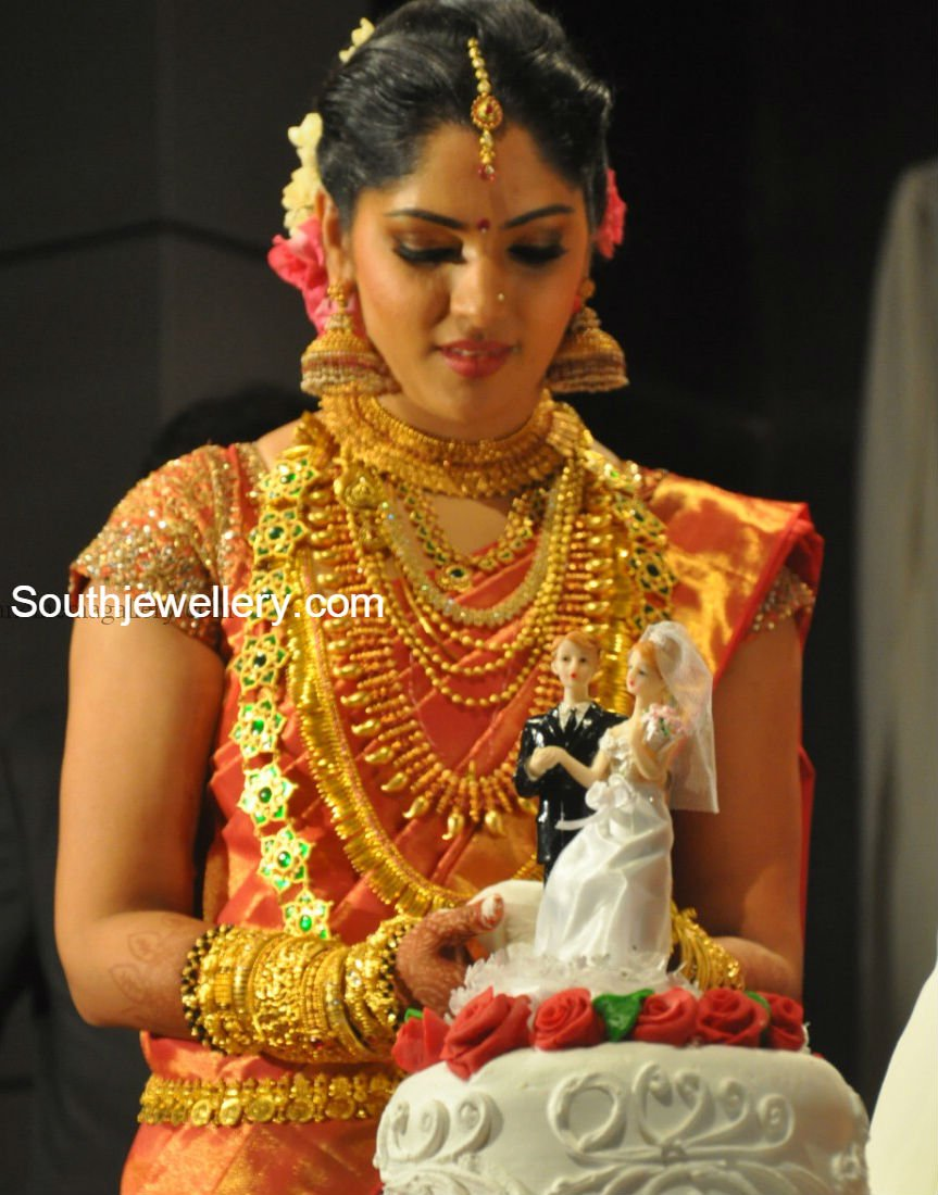 Actress Muktha S Engagement And Wedding Reception