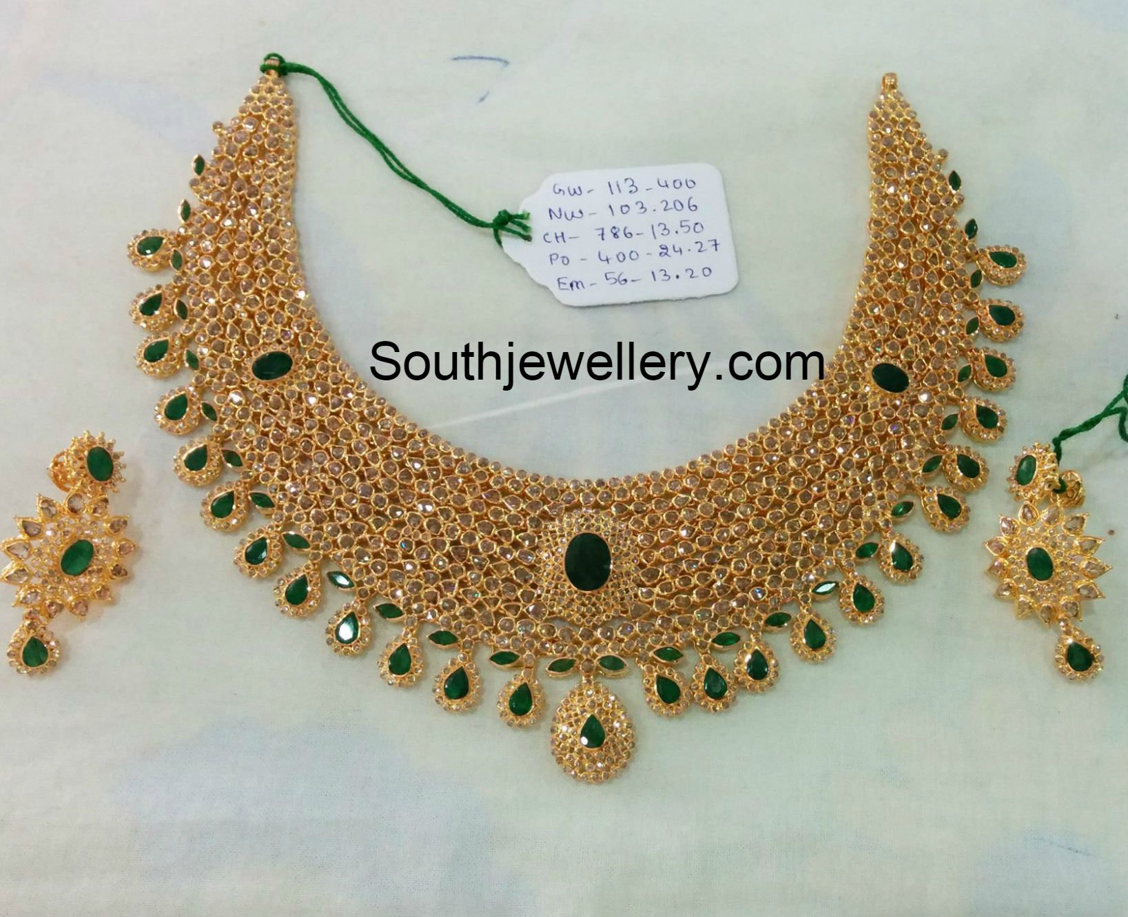 Antique Gold Bridal Jewellery by Hiya designer Jewellery