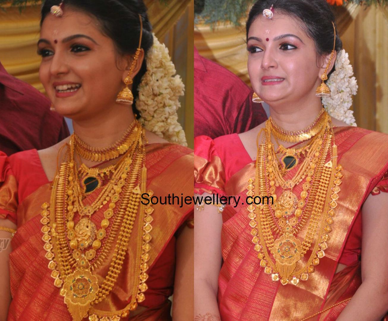 Earrings Gold for wedding kerala