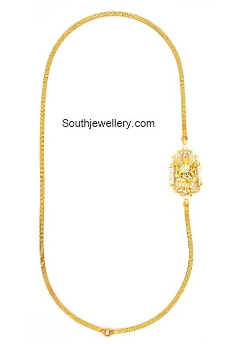 Gold necklaces for women indian style