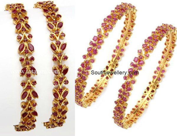 22_carat_gold_ruby_bangles
