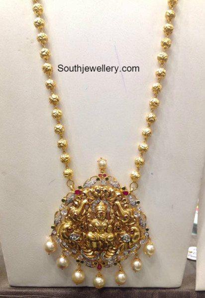 gold_balls_mala_lakshmi_pendant