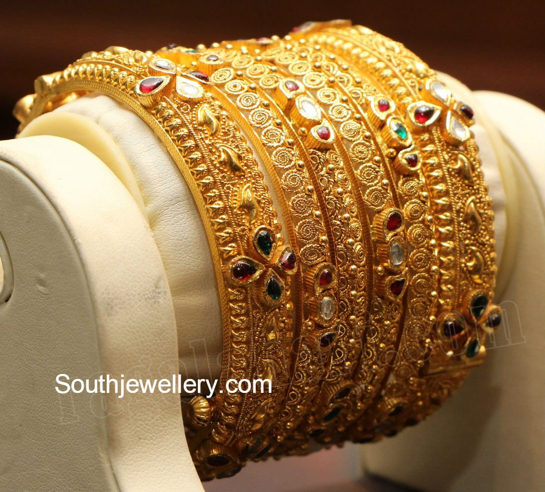 Gold Bangles Latest Jewelry Designs Page 3 Of 16